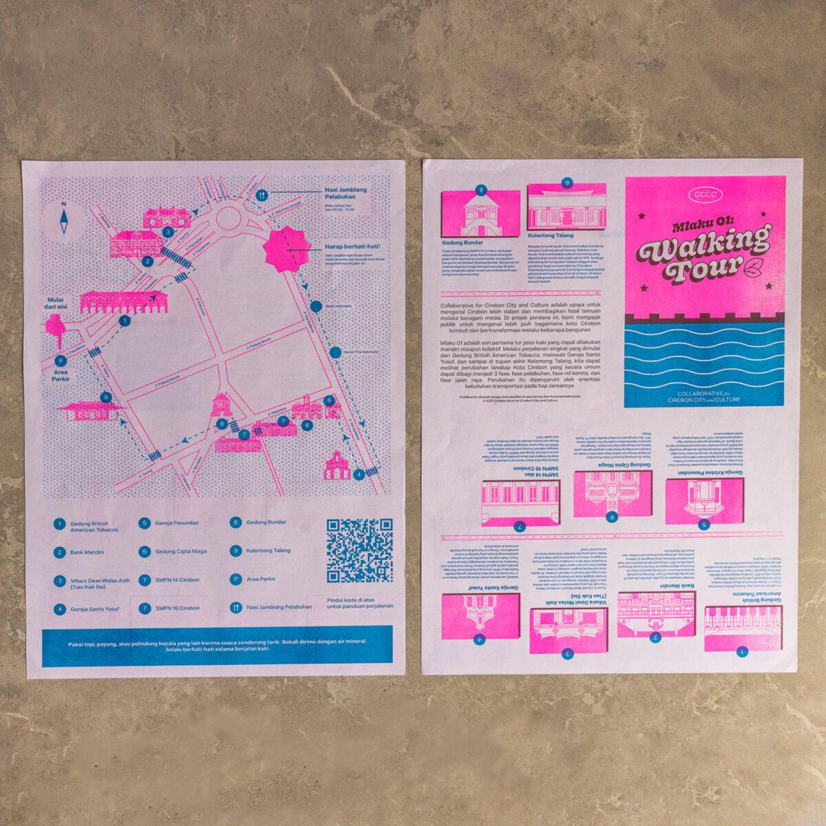 Mlaku 01: Walking Tour - Map
